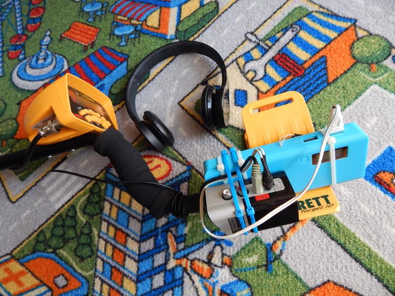 Беспроводные наушники для металлоискателя своими руками